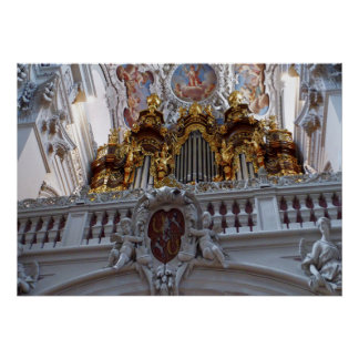 Whistle Passau Pipe Organ Poster