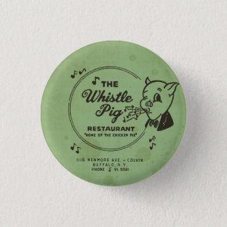 Whistle Pig Restaurant Pinback Button