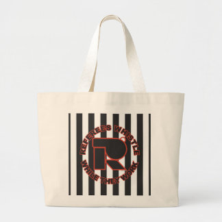 Whistle While You Work Large Tote Bag