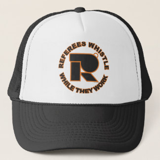Whistle While You Work Trucker Hat