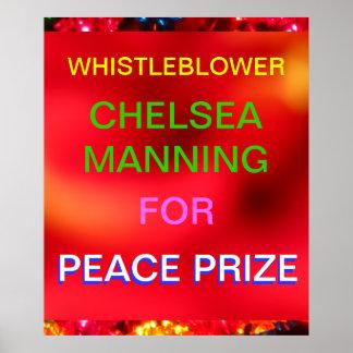 Whistleblower Chelsea que sirve para el premio de