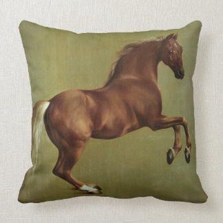 Whistlejacket, 1762 throw pillows