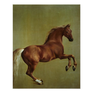Whistlejacket, 1762 poster