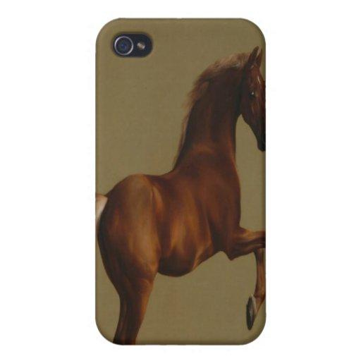 WHISTLEJACKET POR EL CASO DEL ARTE IPHONE DE STUBB iPhone 4 CARCASAS