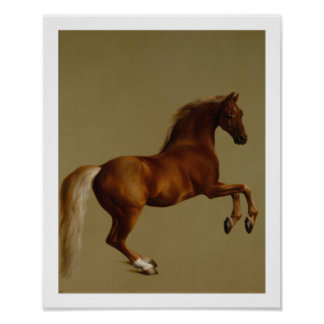 Whistlejacket Race Horse by George Stubbs Poster