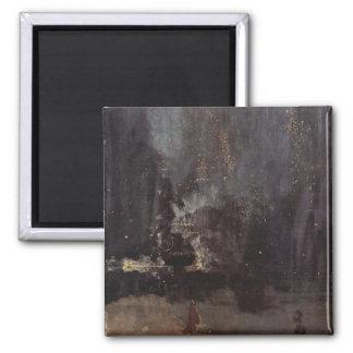 Whistler Art Work Fridge Magnet