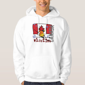 Whistler Canada ski hoodie