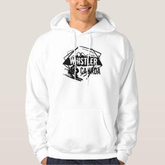 Whistler Canada ski logo hoodie