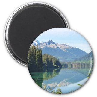 Whistler Lake 2 Inch Round Magnet