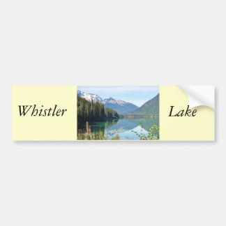 Whistler Lake Bumper Sticker