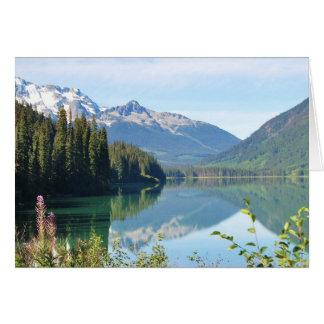 Whistler Lake Card