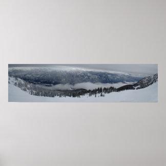 Whistler Panoramic View Poster