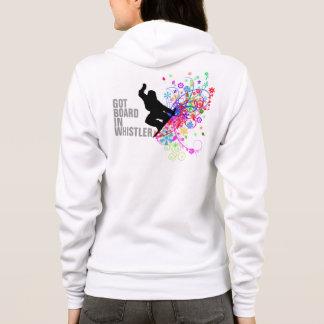 Whistler, womens snowboard hoodie