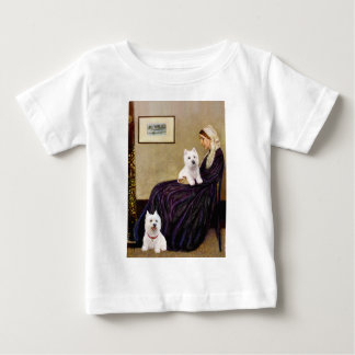 Whistlers Mom - Westies 3 and 11 Baby T-Shirt