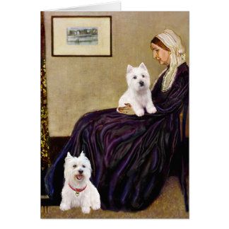 Whistlers Mom - Westies 3 and 11 Card