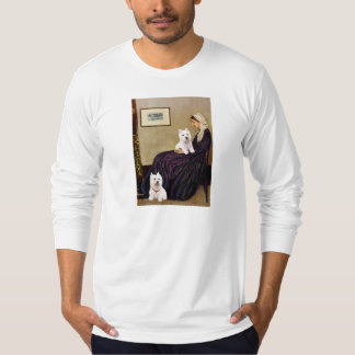 Whistlers Mom - Westies 3 and 11 T-Shirt
