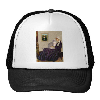 Whistlers Mother - Abyssinian (blue 21) Mesh Hat