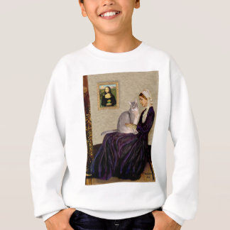 Whistlers Mother - Abyssinian (blue 21) Sweatshirt