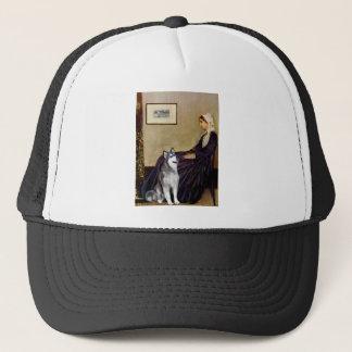 Whistlers Mother - Alaskan Malamute Trucker Hat