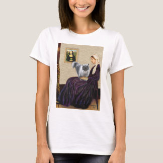 Whistlers Mother - Blue Smoke Persian T-Shirt