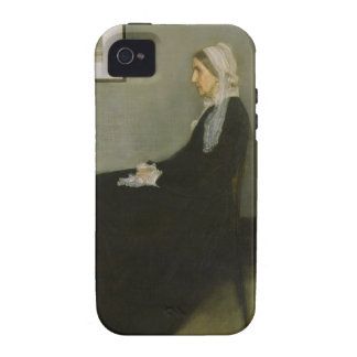 Whistler's Mother by James Abbot McNeill Whistler iPhone 4 Cover