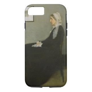 Whistler's Mother by James Abbot McNeill Whistler iPhone 7 Case