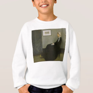 Whistler's Mother by James Abbot McNeill Whistler Sweatshirt