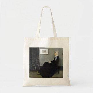 Whistler's Mother by James Abbott McNeill Whistler Tote Bag