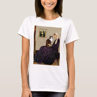 Whistlers Mother - Calico cat T-Shirt