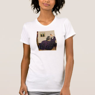 Whistler's Mother - Calico Persian cat T-Shirt