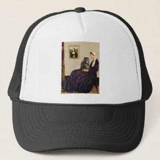 Whistler's Mother - Calico Persian cat Trucker Hat