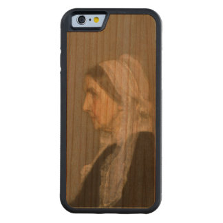 Whistler's Mother Carved Cherry iPhone 6 Bumper Case
