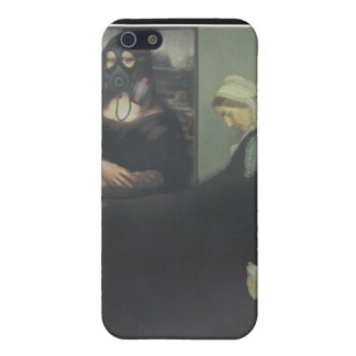 Whistler's Mother got Gassed Case For iPhone SE/5/5s