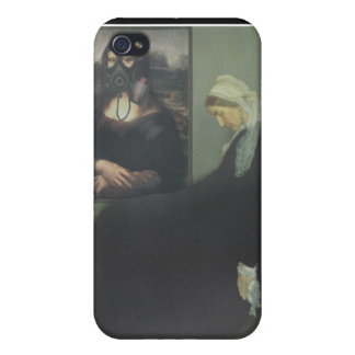 Whistler's Mother got Gassed iPhone 4 Covers
