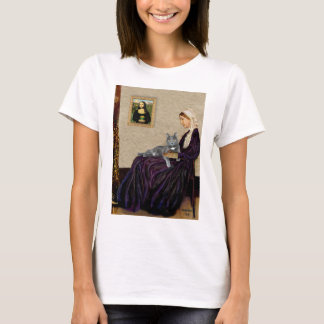 Whistlers Mother - Grey cat T-Shirt