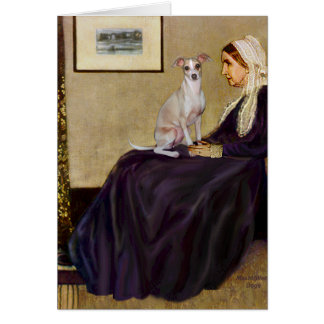 Whistlers Mother - Italian Greyhound 5 Card