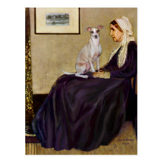 Whistlers Mother - Italian Greyhound 5 Post Cards