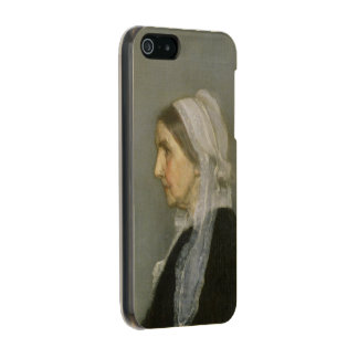 Whistler's Mother Metallic iPhone SE/5/5s Case