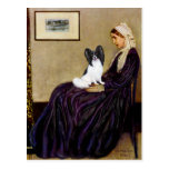 Whistlers Mother - Papillon 1 Postcard