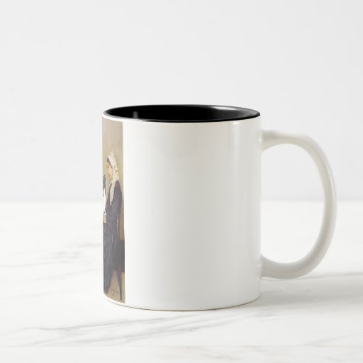 Whistlers Mother - Papillon 1 Two-Tone Coffee Mug