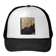 Whistlers Mother - Pembroke Welsh Corgi 7b Mesh Hats
