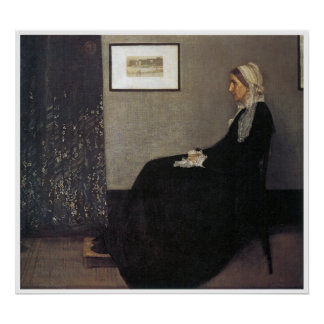 Whistler's Mother Print