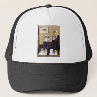 Whistlers Mother -  Shih Tzus (seven) Trucker Hat