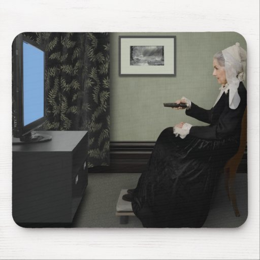 Whistler's Mother Updated Mouse Pad