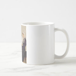 Whistlers Mother - White Persian cat Coffee Mug