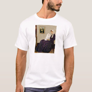 Whistlers Mother - White Persian cat T-Shirt