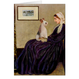 Whistlers Mother - Wire Fox Terrier #4 Cards