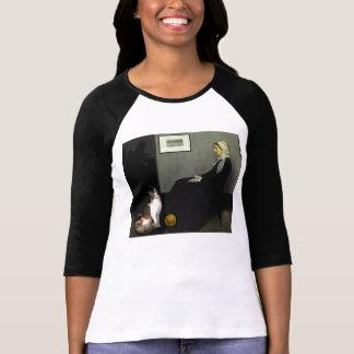 Whistler's Mother's Cat T Shirt