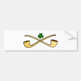 Whistles clover sheet pipes shame skirt bumper sticker