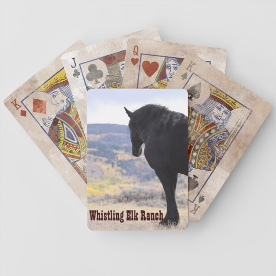 Whistling Elk Ranch Playing Cards